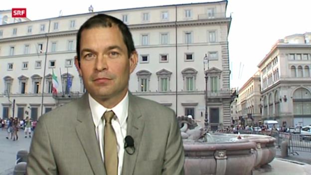 Video «Einschätzungen von Philipp Zahn, SRF-Korrespondent in Rom» abspielen