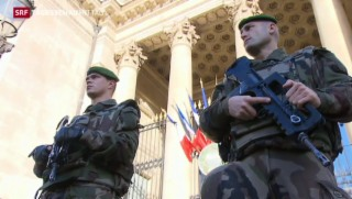 Video «Angst vor weiterem Terror in Frankreich» abspielen