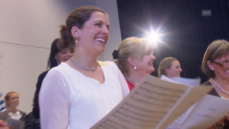 Die ersten Töne des Puls-Chors