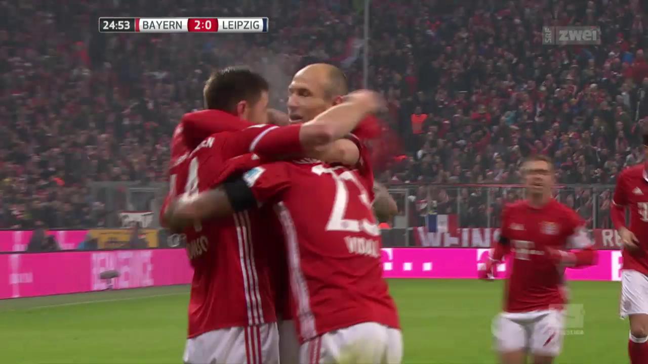 Bayern weist Leipzig klar in die Schranken