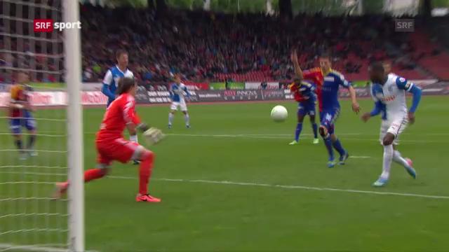 Fussball: Zusammenfassung GC - Basel («sportpanorama»)