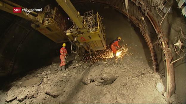Video «Bauen im Berg: Granit, Gneis und Kakirit (2/6)» abspielen