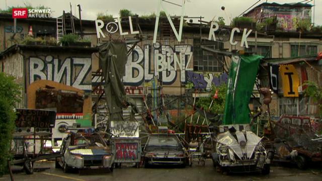 Binz-Areal geräumt