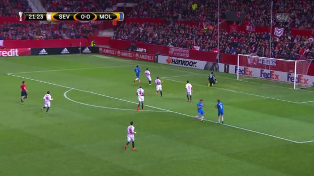 Video «EL: Sevilla - Molde» abspielen