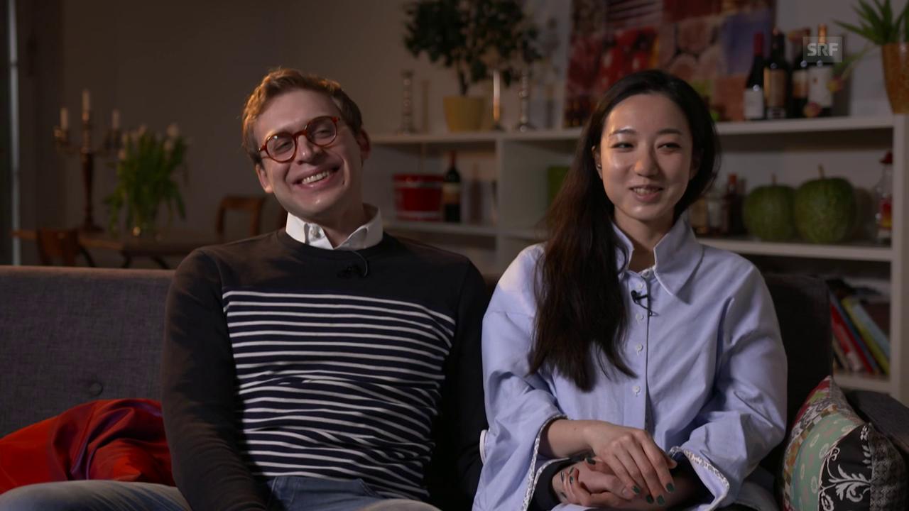 Nina und Raphael: «Wir sind sofort zusammen gezogen.»