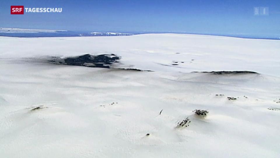 Alarmstufe Rot: Vulkanausbruch auf Island