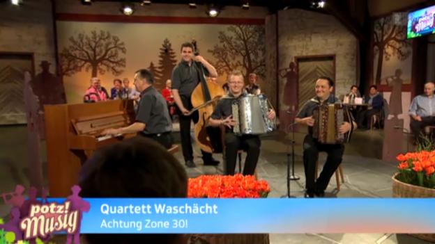 Video «Quartett Waschächt» abspielen
