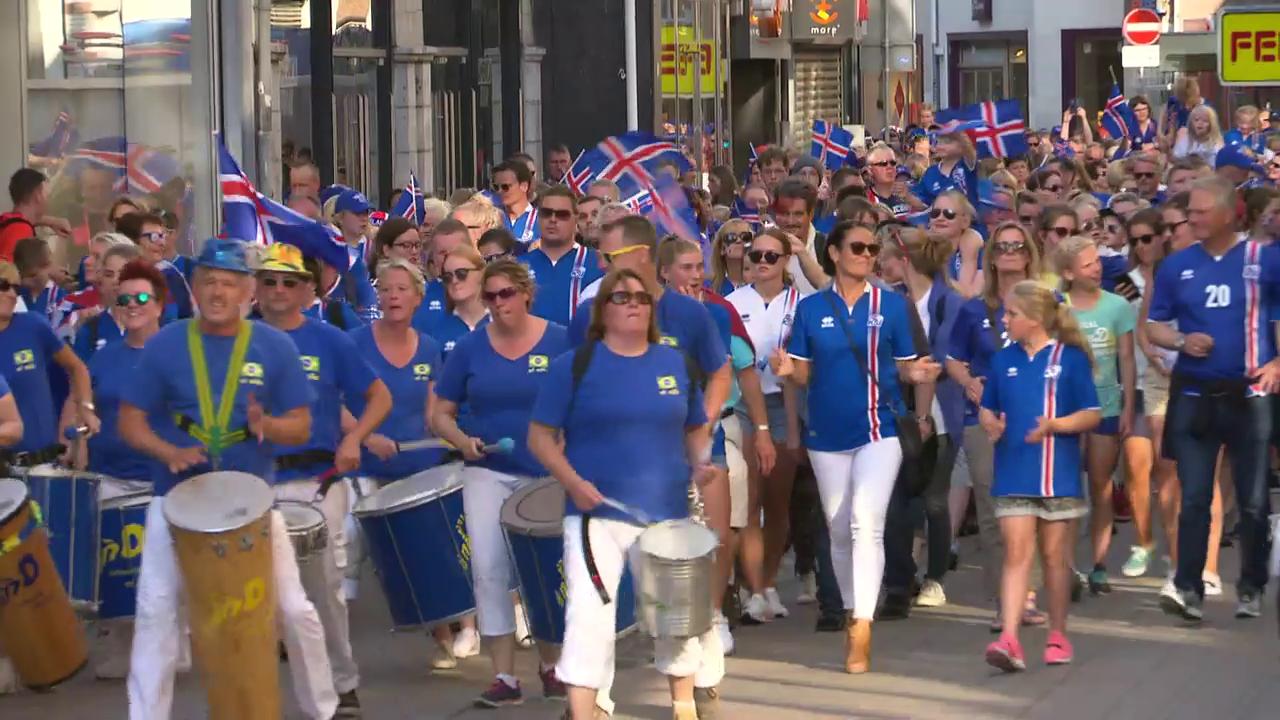 Die Isländer kommen - Impressionen aus Tilburg