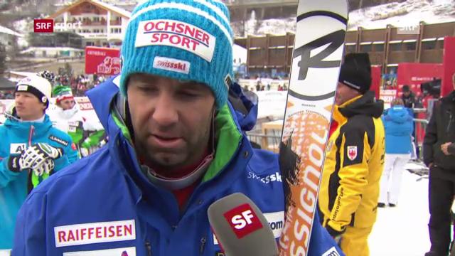 Ski: Kein guter Tag für Didier Défago («sportaktuell»)