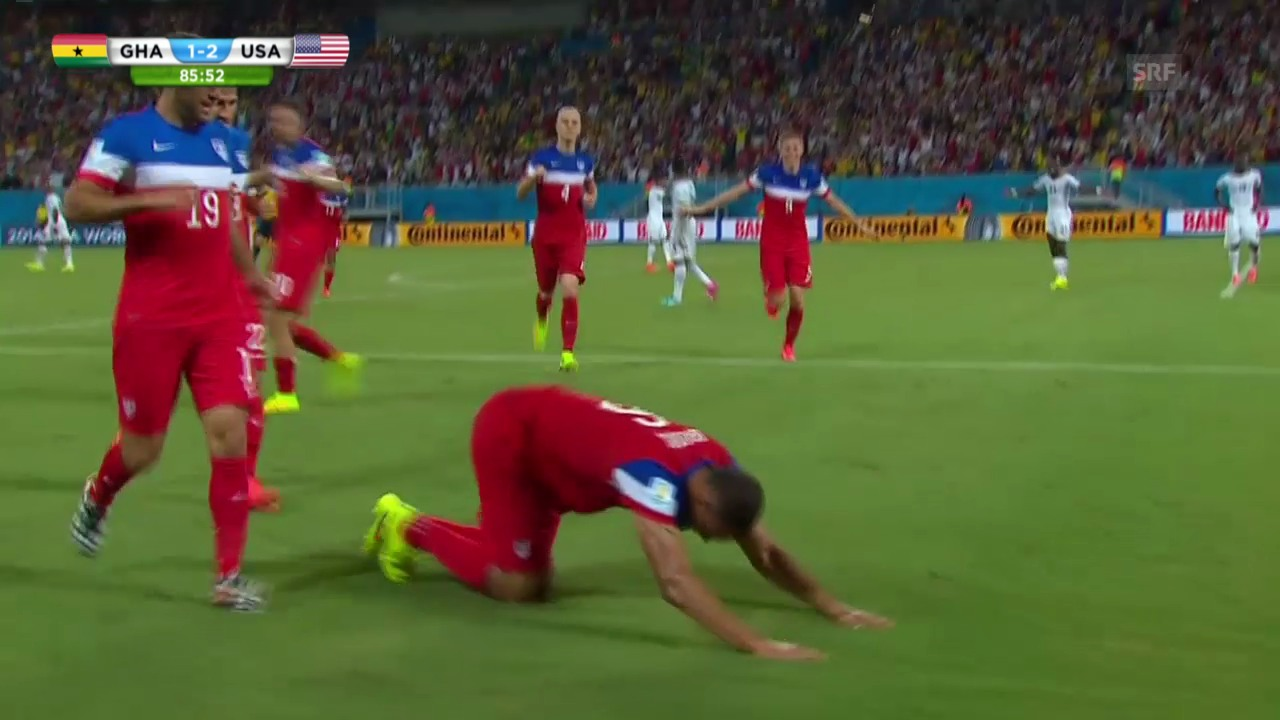 FIFA WM 2014: Ghana - USA: Die Highlights