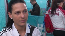 Video «Curling: Schweiz - Japan, Interview Carmen Schäfer (16.02.2014)» abspielen