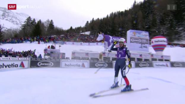 Video «Nadia Fanchini triumphiert in La Thuile - Gut verpasst Top 10» abspielen