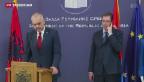 Video «Erfolgloser Besuch des albanischen Regierungschefs in Serbien» abspielen