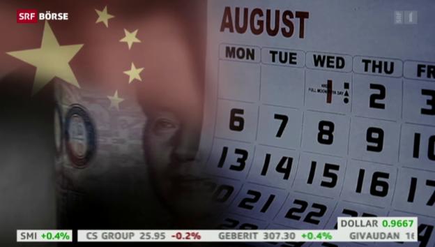 Video «SRF Börse vom 31.08.2015» abspielen