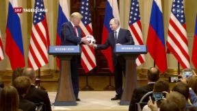 Video «Trump-Putin-Gipfel in Helsinki» abspielen