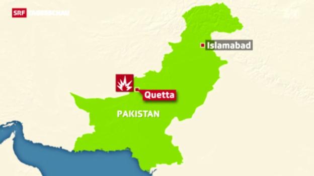 Video «Anschlag in Pakistan» abspielen