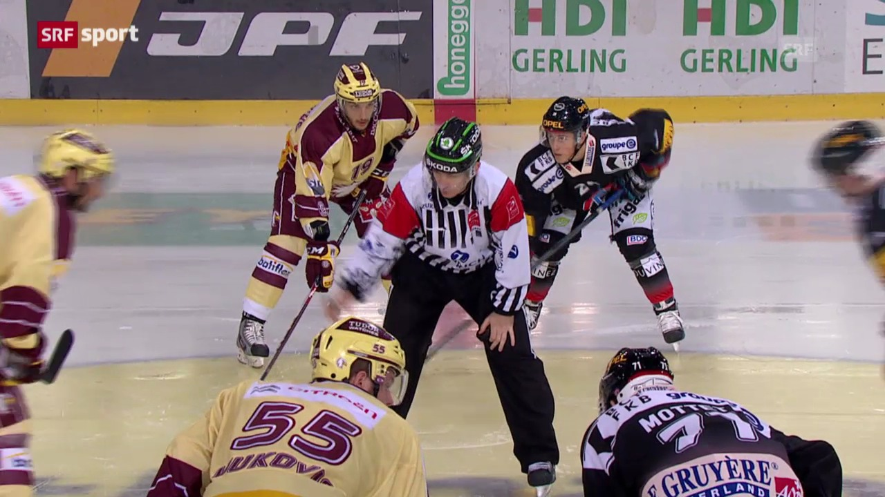 Spielbericht Freiburg - Genf («sportaktuell»)