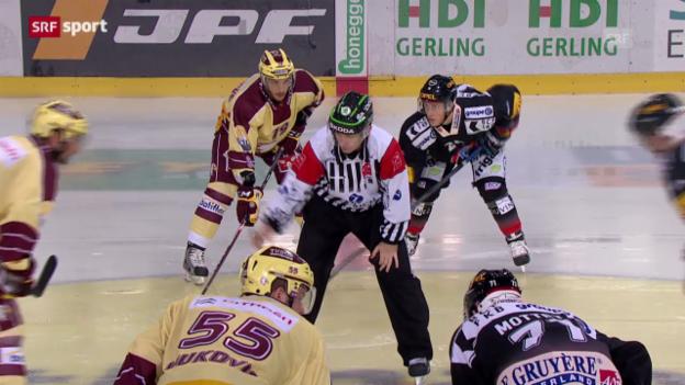 Video «Spielbericht Freiburg - Genf («sportaktuell»)» abspielen