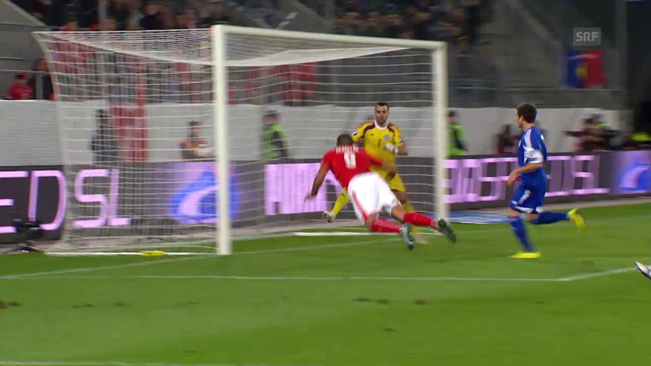 Fussball: EM-Quali, Schweiz - San Marino. die Live-Highlights