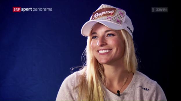 Video «Lara Gut vor dem Saisonstart» abspielen
