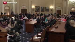 Video «Hillary Clinton sagt vor US-Kongress aus» abspielen