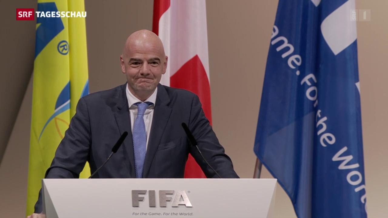 Gianni Infantino ist neuer Fifa-Präsident
