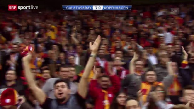 Video «CL: Galatasaray - Kopenhagen» abspielen