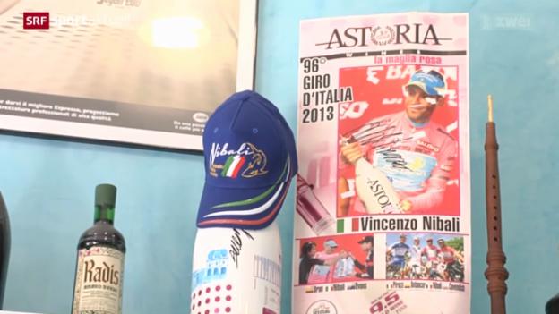 Video «Rad: Nibali als italienischer Hoffungsträger» abspielen