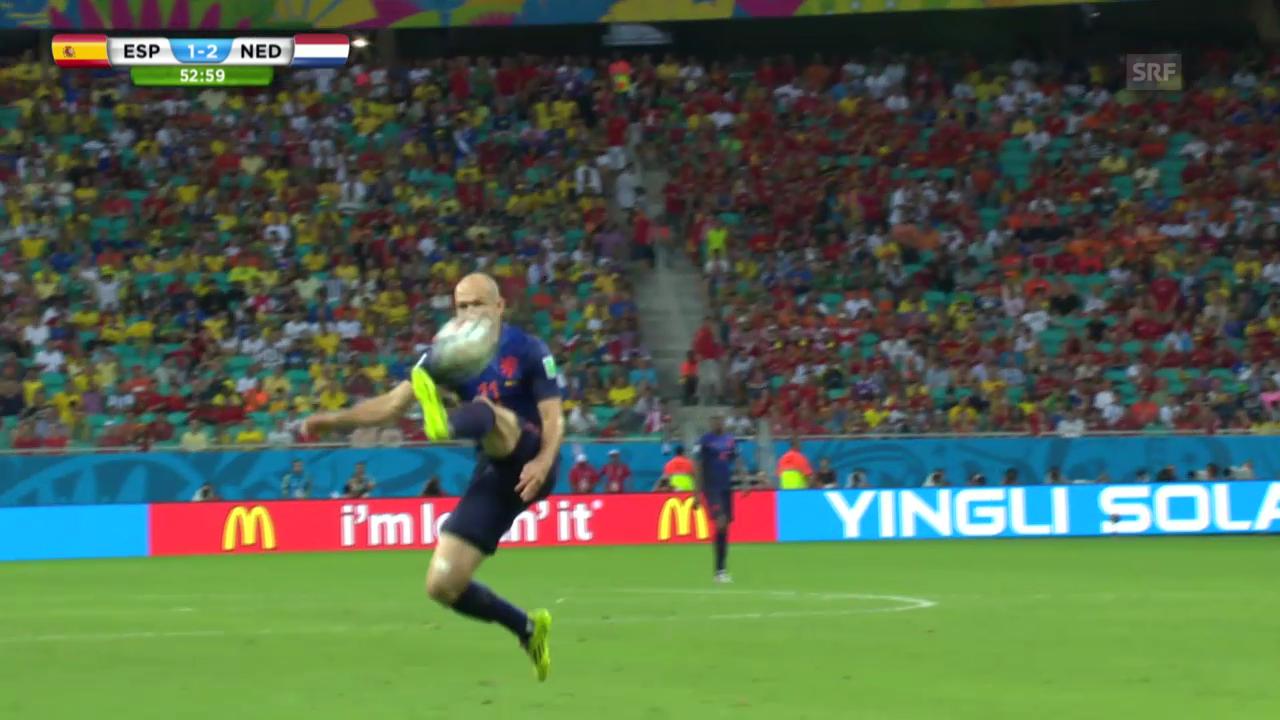 Die Vorrunden-Tore von Arjen Robben