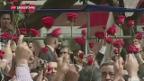 Video «Papst Franziskus appelliert an Maduro» abspielen