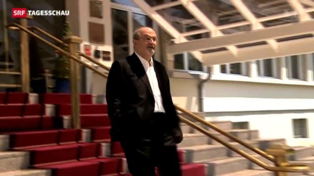 Salman Rushdie in Leukerbad