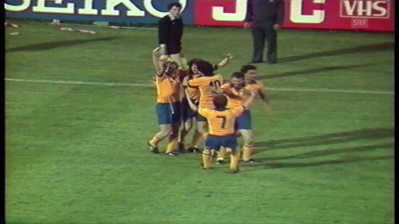 1984: Juves Boniek trifft gegen Porto