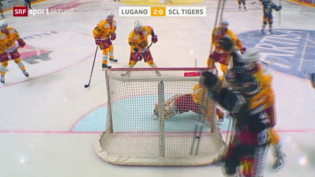 Video «Lugano feiert problemlosen Heimsieg» abspielen