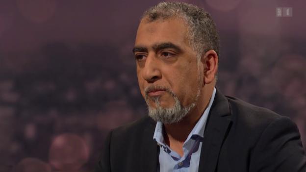 Video «Gast: Atef Sahnoun, Präsident der Winterthurer An'Nur-Moschee» abspielen