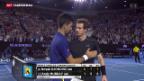 Video «Australian Open Titel für Novak Djokovic» abspielen