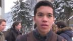 Video ««Mint»: WEF in Davos – Was halten ansässige Schüler davon?» abspielen