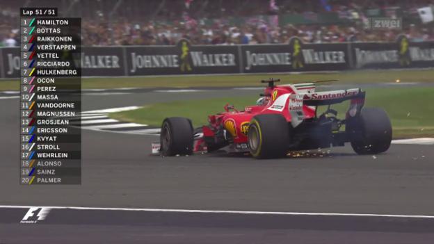 Video «Vettels Reifendrama – Hamiltons Heimsieg» abspielen