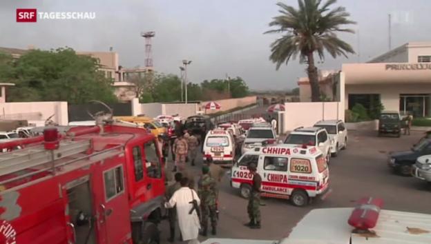 Video «Taliban überfallen Airport in Karachi» abspielen