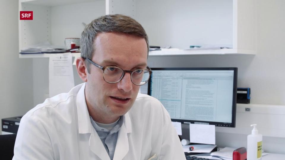Neurologe Ilijas Jelcic: Laut Literatur dürfen wir erwarten, dass sie die nächsten Jahre keine Schübe mehr hat.»