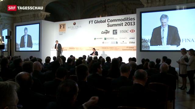 Rohstoff-Gipfel in Genf