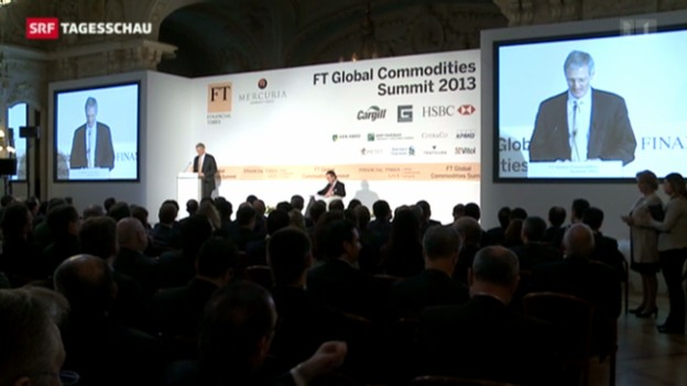 Video «Rohstoff-Gipfel in Genf» abspielen