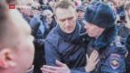 Video «Aufruf gegen die Korruption in der Regierung» abspielen
