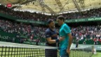Video «Roger Federer in Halle im Final» abspielen