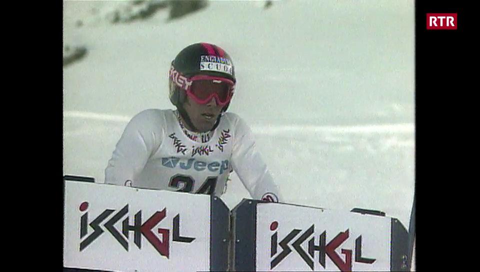 Cla Mosca - campiun mundial da snowboard alpin