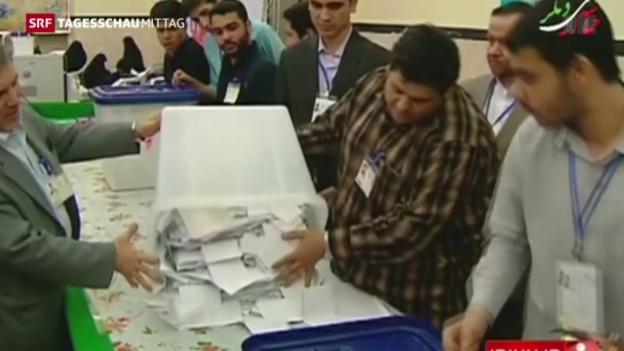 Video «Iraner haben gewählt» abspielen