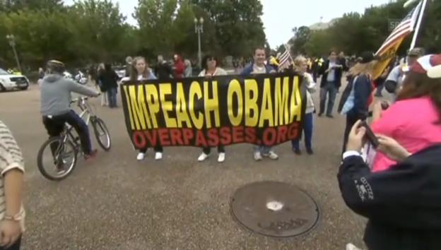 Video «Veteranen-Demo gegen Budget-Hickhack (unkommentiert)» abspielen