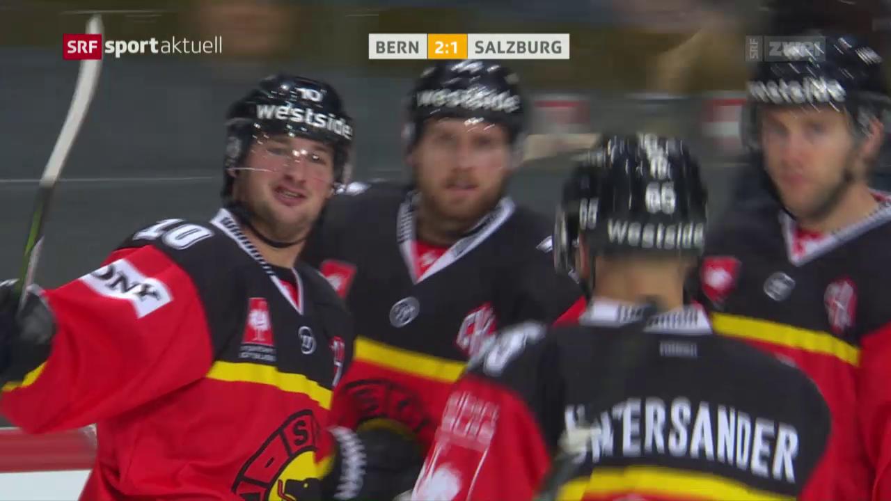 Bern lässt gegen Salzburg nichts mehr anbrennen