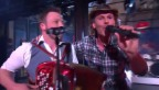 Video «Franz Arnold mit Wiudä Bärg und dem Song Jegär» abspielen