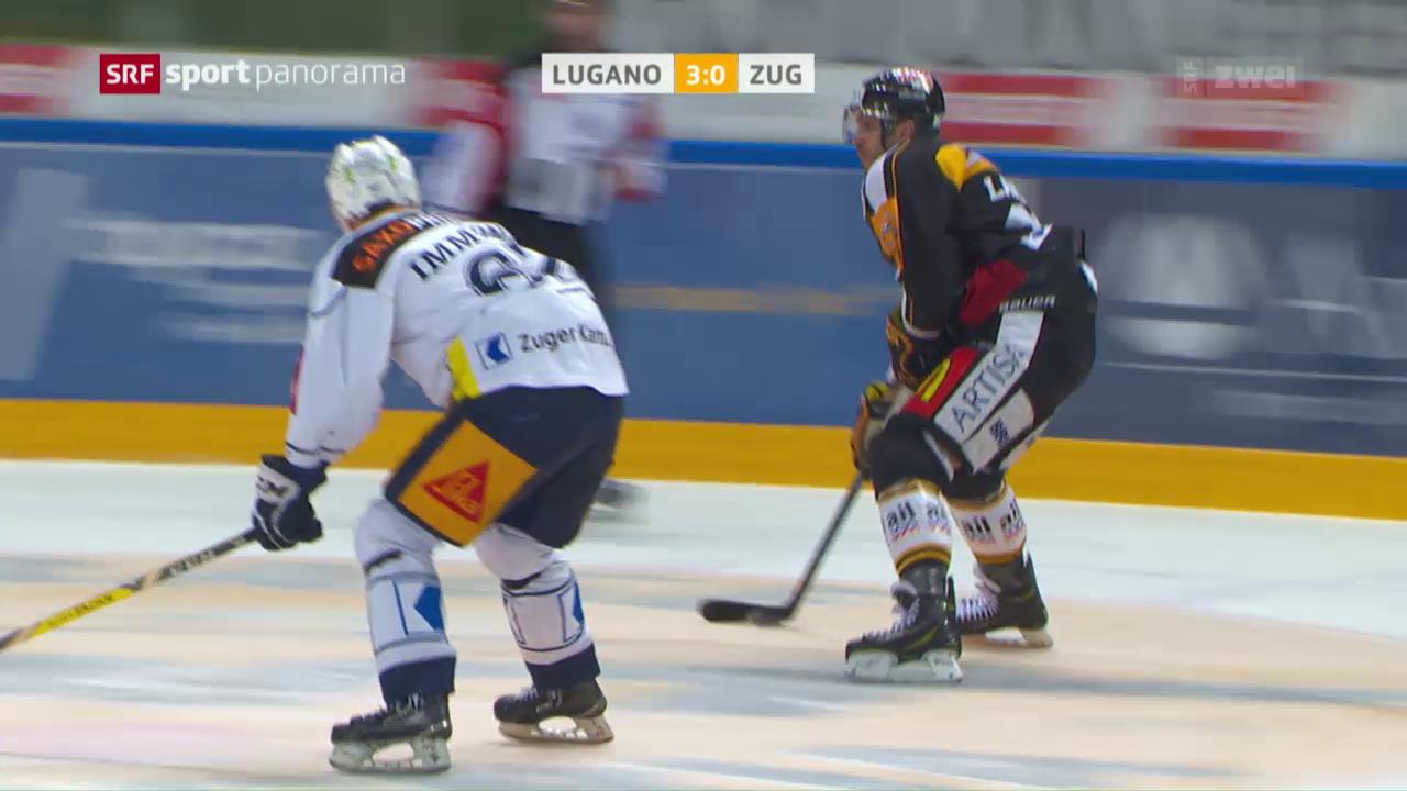Lugano rehabilitiert sich für Derby-Pleite