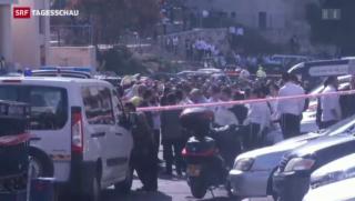 Video «Neue Gewalt in Jerusalem» abspielen